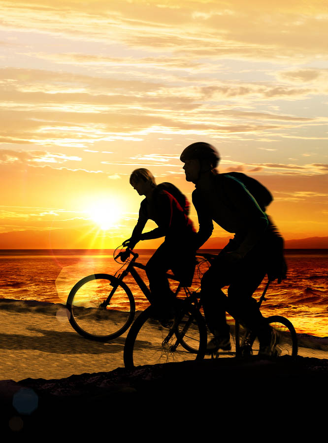 Bicycle Touring Couples
